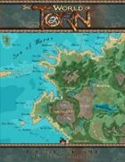 Western Oljanus - Maras: A Torn World Overland Map
