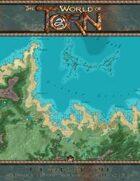 Northern Druath Glennan & Turtleback Reef: A Torn World Overland Map