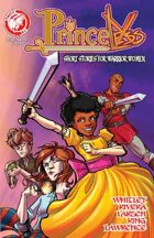 Princeless: Short Stories For Warrior Women #1
