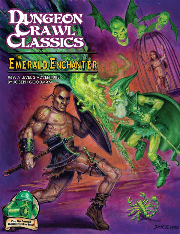 Cover of Dungeon Crawl Classics #69: The Emerald Enchanter