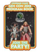 Goodman Games Gen Con 2013 Program Book