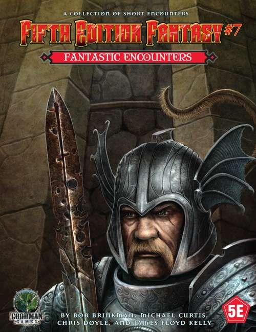 Fifth edition fantasy 7 fantastic encounters goodman games 5e quick preview fandeluxe Gallery