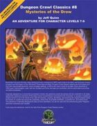 Dungeon Crawl Classics #8: Mysteries of the Drow