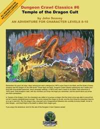 Dungeon Crawl Classics #6: Temple of the Dragon Cult