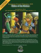 Dungeon Crawl Classics #45: Malice of the Medusa