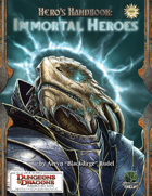 Free RPG Day 2009 – Amethyst: Hearts of Chaos / Heroes Handbook: Immortal Heroes