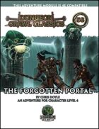 Dungeon Crawl Classics #58: The Forgotten Portal