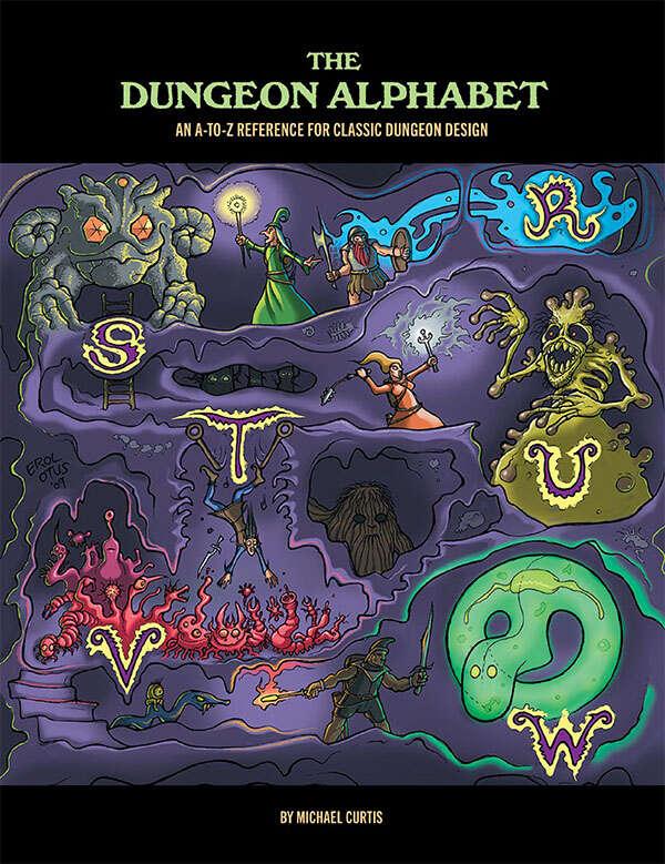 The dungeon alphabet goodman games systems neutral the dungeon alphabet goodman games systems neutral drivethrurpg fandeluxe Images