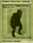 Threat Analysis: Hominid