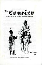 The Courier: Bulletin of the New England Wargamers Association V2 #5 1970