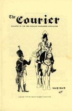 The Courier: Bulletin of the New England Wargamers Association V2 #6 1970