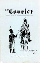 The Courier: Bulletin of the New England Wargamers Association V2 #8 1970