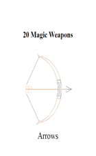 20 Magic Weapons (Arrows)