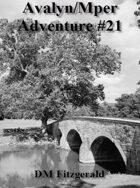Avalyn/Mper Adventure #21
