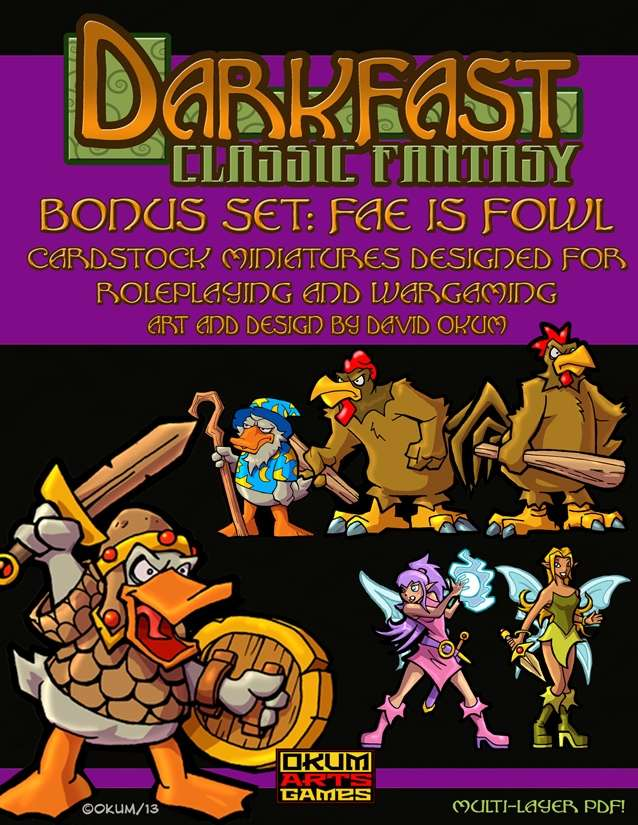 Darkfast Classic Fantasy Bonus Set One: Fae is Fowl