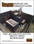 Darkfast Dungeons Props Set One: Forgotten Tombs