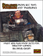 Darkfast Dungeons Props Set Two: Lost Treasures