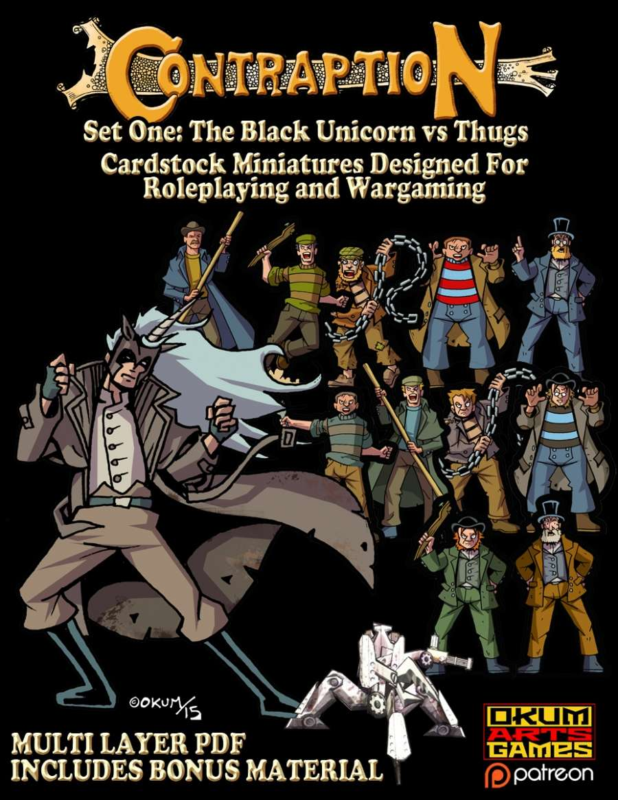 Contraption Set One: The Black Unicorn vs Thugs
