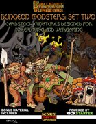 Darkfast Dungeons: Dungeon Monsters Set Two