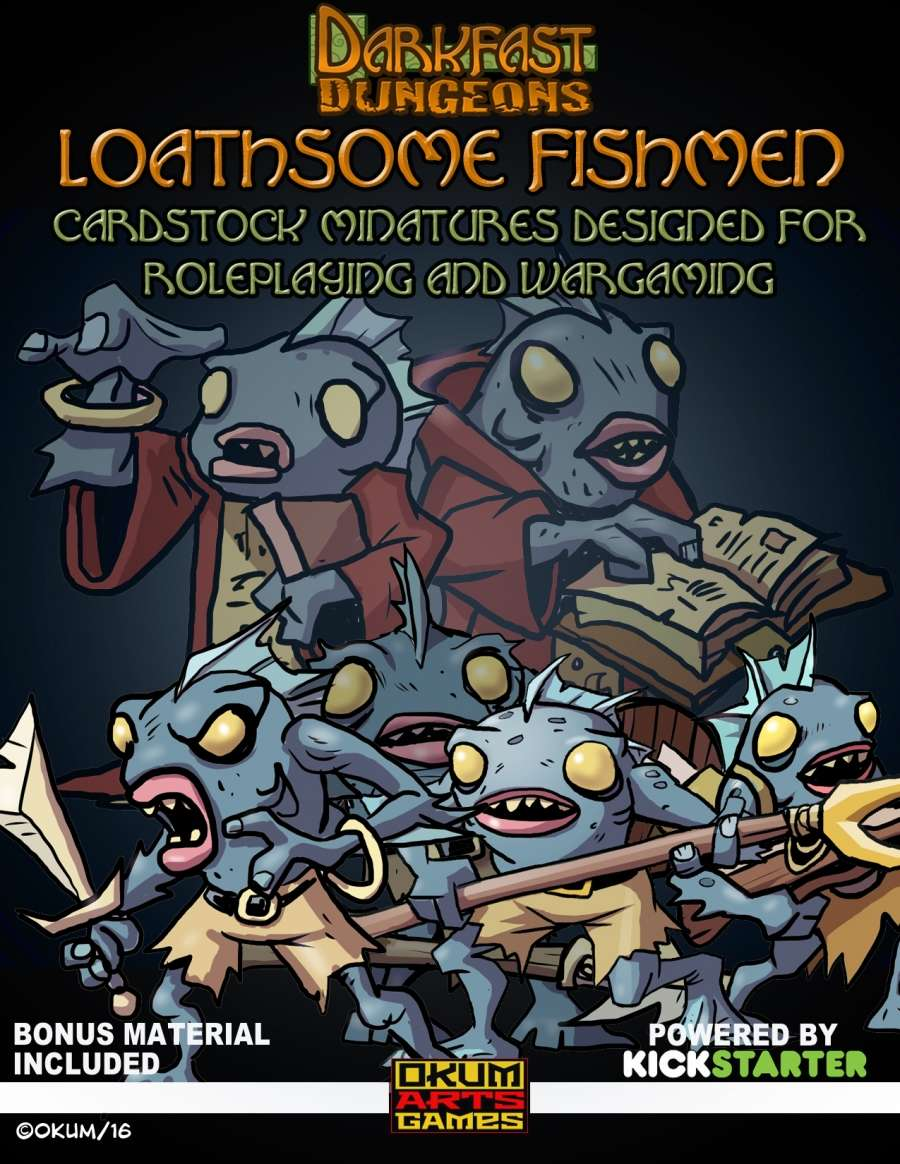 Darkfast Dungeons: Loathsome Fishmen