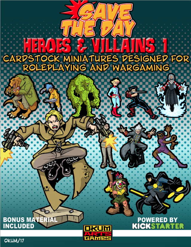 Save The Day: Heroes and Villains Set One