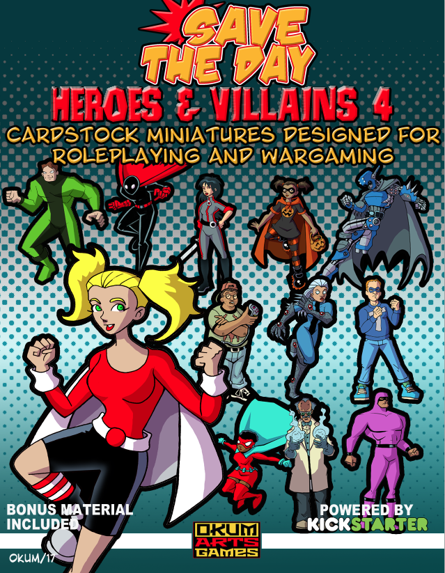 Save The Day: Heroes and Villains Set Four