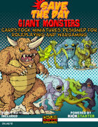 Save The Day: Giant Monsters