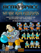Retro Space Set Nine: Alien Explorers