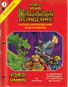 Darkfast Dungeons: Fantasy Adventure Game Basic Rulebook