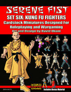 Serene Fist Set Six: Kung Fu Fighters