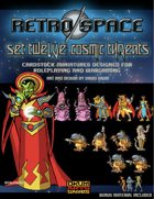 Retro Space Set Twelve: Cosmic Threats