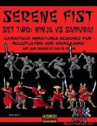 Serene Fist Set Two: Ninja vs Samurai