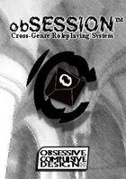 obSESSION Cross-Genre Roleplaying Core Rulebook