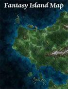 Fantasy Island Map