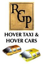 RGP011 - Sci-Fi Scenics - Set 1 - Hover Taxi and Hover Car