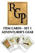 RGP001 - Item Cards Set 1: Adventurer's Gear
