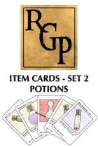 RGP002 - Item Cards Set 2: Potions