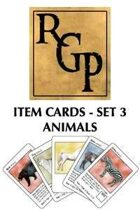 RGP003 - Item Cards Set 3: Animals