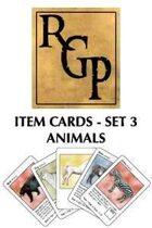RGP003 - Item Cards Set 3: Animals
