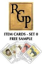 Item Cards Set 0: Free Sample