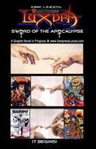 Luxura: Sword of the Apocalypse Introduction Book  [BUNDLE]