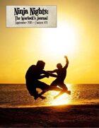 Ninja Nights: Warlock's Journal Contest #21