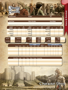 Chivalry & Sorcery 5th Edition Character Sheet