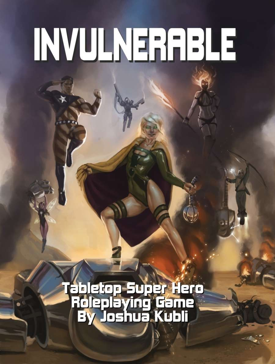 Invulnerable Tabletop Super Hero Roleplaying Game - Imperfekt ...