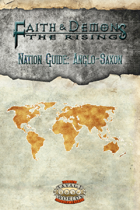 Faith & Demons Nation Guide: Anglo-Saxon