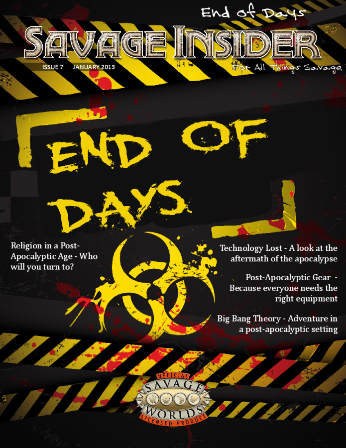Issue #7: End of Days