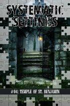 Shadowed Earth Veiled Adventures #02: The Temple of St. Benjamin (EGS)
