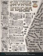 Savage Insider Issue 1