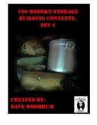 100 Modern Storage Building Contents, Set 4