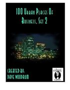 100 Urban Places Of Business, Set 2